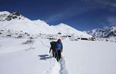 Langtang Valley Trek in Spring