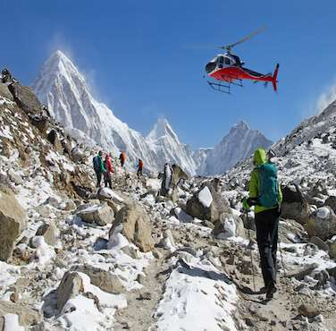 Helicopter Tour in Nepal - Himalayan Frozen Adventure