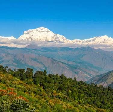 Panorama Annapurna range