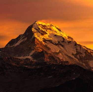 Wonderful Annapurna Mountain
