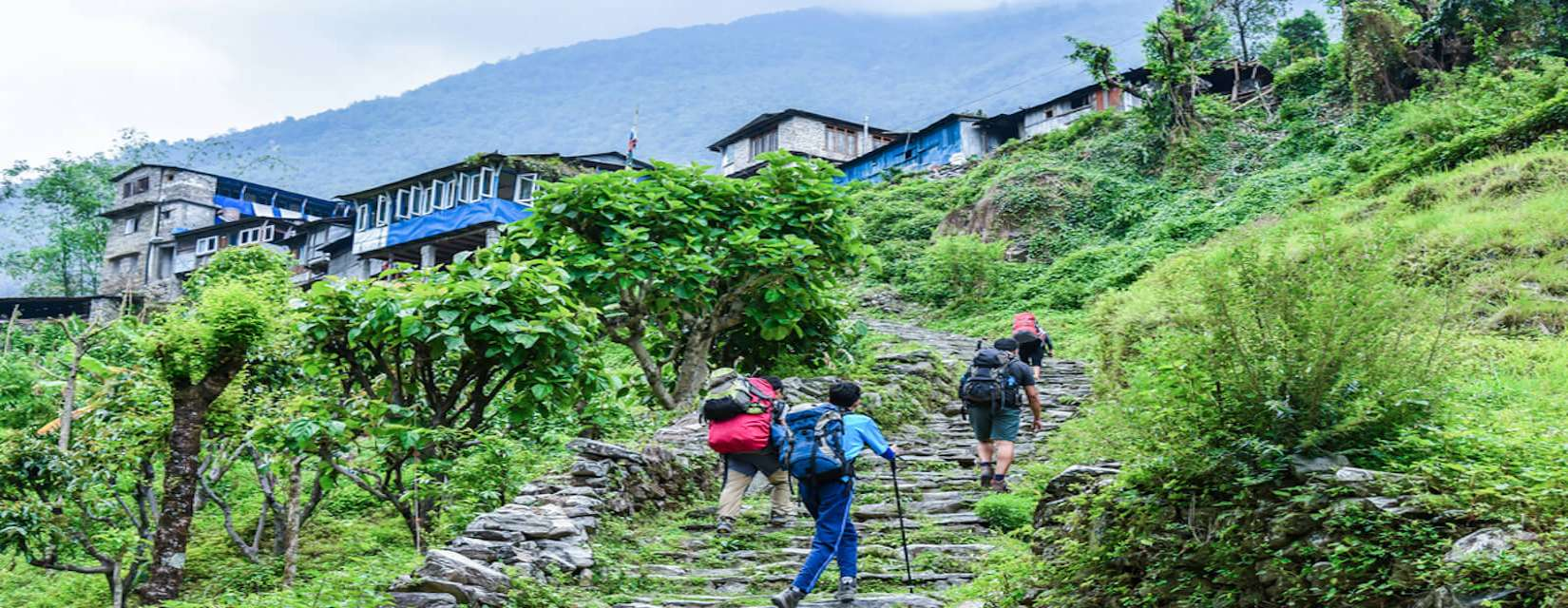 Family Trekking in Nepal