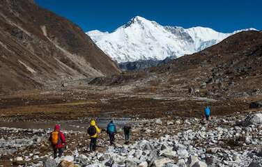 Everest High Passes Trek - Himalayan Frozen Adventure