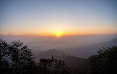 Nagarkot sunrise view tour