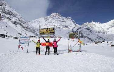 Rapid Annapurna Base Camp Trek